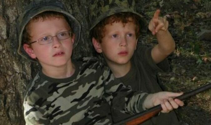 When a kid starts out squirrel hunting, the outdoors gets in his blood.