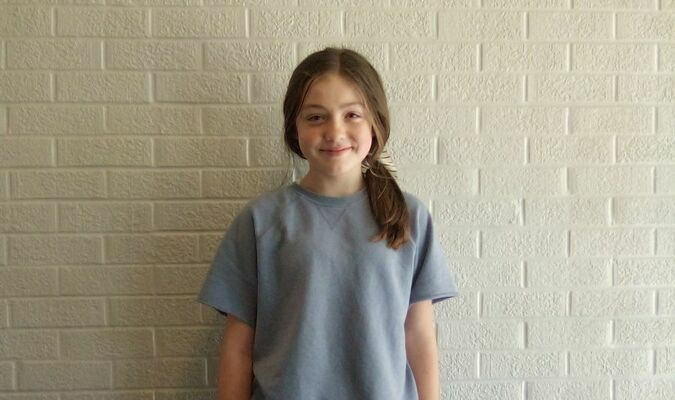 Sophia Haag, daughter of Brandon and Shelly Haag, is the sixth grade Student of the Week at Lamar Middle School. Sophia likes to play volleyball and basketball. Her favorite subject is Social Studies. Sophia has two pets and her family and friends mean a lot to her. She is a member of LMS Student Council.