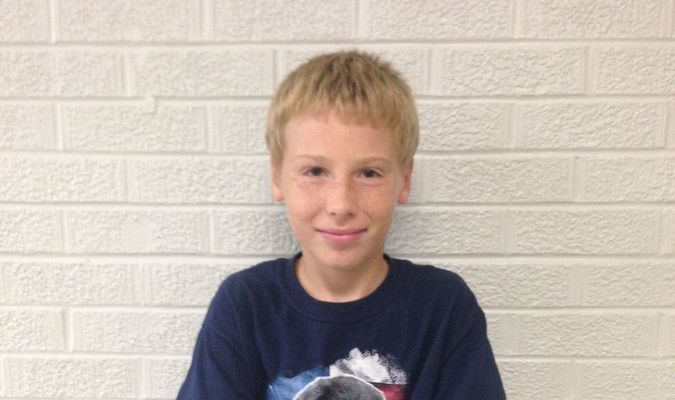 Christian Hodson-Spencer, son of Ronald and Robin Spencer, is the eighth grade Student of the Week at Lamar Middle School. Christian likes to play with Legos. He would also like to play football, but can't because of a heart condition. He has a cat named Miss Priss and a dog named Xena. Christian also likes to pick on his sister, watch TV and play on his phone.