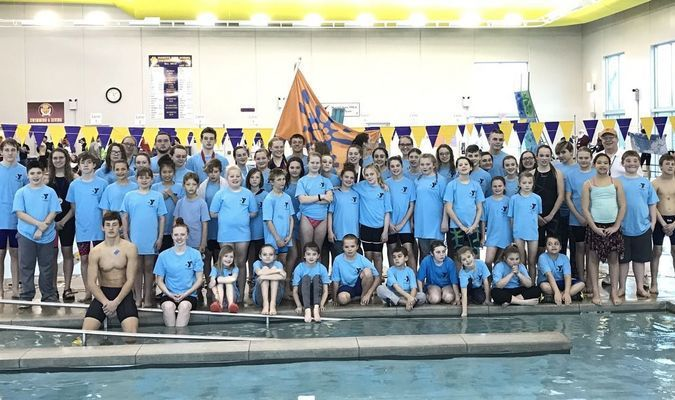 CatTracks completed a four-peat by winning the 2017 Heart West Regional Swim Championships on March 3-5, in Monett. CatTracks is a competitive swim program, comprised of athletes from throughout southwest Missouri, including Lamar, Liberal, Joplin, Webb City, Carl Junction, Diamond, Neosho and Carthage. The swim season runs from September through April, each year, and consists of both fall and winter seasons. The team trains at the Fair Acres YMCA in Carthage. CatTracks is led by Coach Lyman Burr, who created CatTracks 11 years ago.
