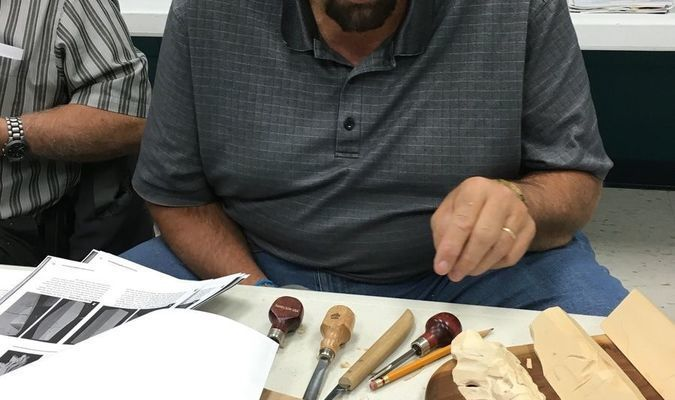 Ron Hager, a Lamar carver, is a member of the Tri County Whittles and Woodcarvers.