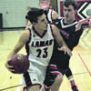 Lamar Democrat/Chris Morrow Lamar senior Ian Moore went for 18 points in the Tigers regular season finale, a victory over visiting Aurora Friday night.