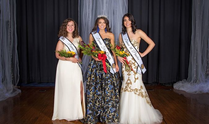 Photo courtesy of Faith Jeffries with Leap of Faith Photography The 62nd Lamar Rotary Fair Queen Pageant winners were, left to right, Gabrielle Miller, second princess; Tabitha Swatosh, queen and Katelynn Hill, first princess.