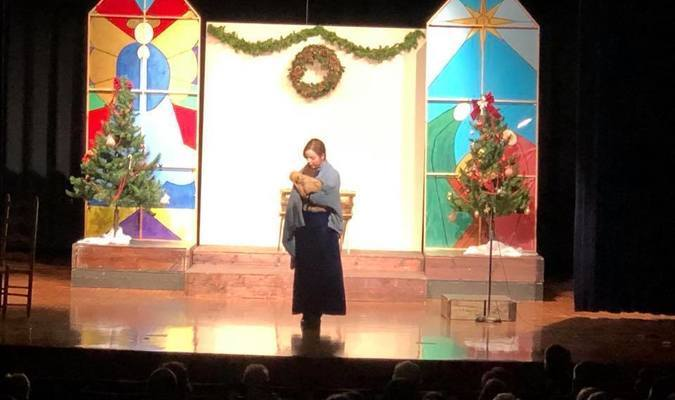 Photo courtesy of Heidi Johnson Darcy McDonald played Imogene Herdman in last year's production.