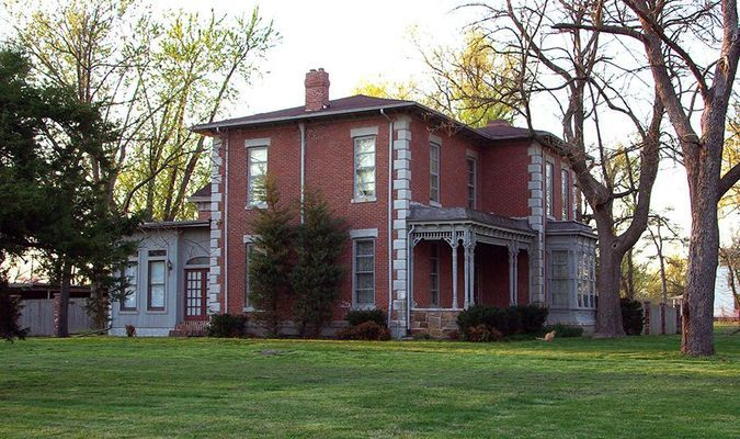The House as it looked in 2010.