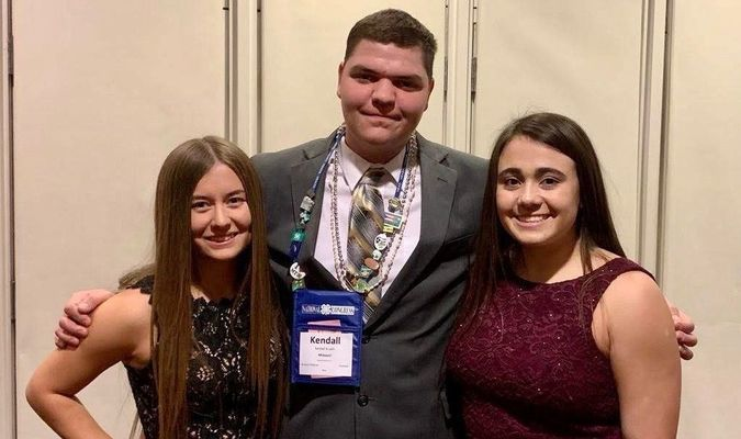 Kaitlyn Davis, daughter of Matt and Elizabeth Davis, Lamar; Kendall Krueth, son of Kevin and Linda Krueth, Liberal and Lexi Phipps, daughter of Joyce and Scott Phipps, Lamar, recently attended National 4-H Congress in Atlanta, Ga. The trio enjoyed the outstanding trip filled with leadership, community service and workshop opportunities. The event closed with a gala ball the group enjoyed, with delegates for the SW region, as well as the new friends from other states and Puerto Rico. Barton County 4-H is very proud of the youth representation to the National 4-H Congress.