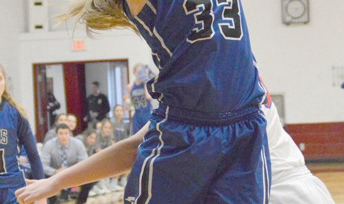 Paris Lady Coyote Drew Lockhart - selected to Class 2, District 6 All-District Team!