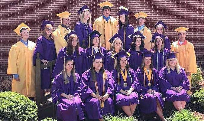 The Madison C-3 Class of 2018 officially graduated on Sunday, May 6. Judy Hornbarger was class Valedictorian and Ashlyn Peterson was class Salutatorian.