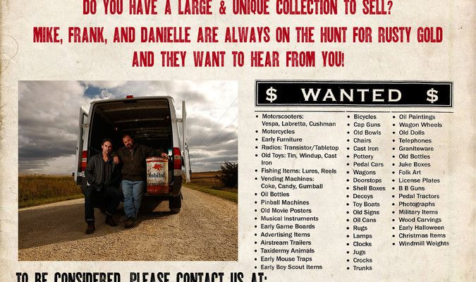 American Pickers coming  in May