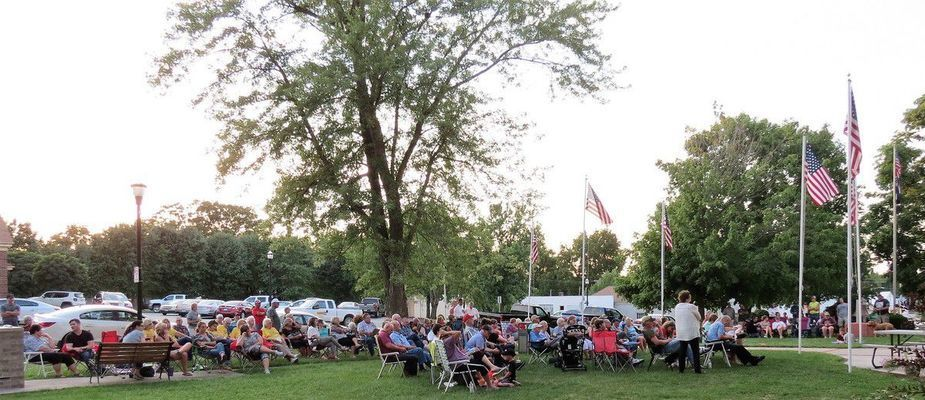 The Monroe County Courthouse lawn was full of people and candidates hearing first hand results of the primary election. Congrats to those who won.