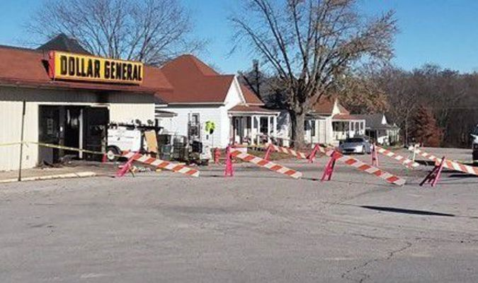 Dollar General and the Clean Up. Photo by Janice Carman.