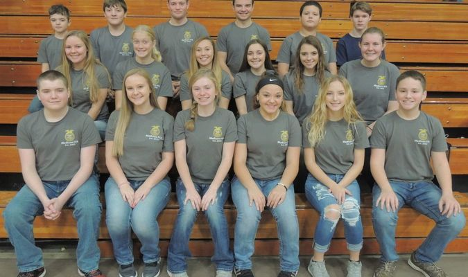 Madison FFA Members come together in unity by wearing their Chapter T-shirts to show their support to Veterans during and the Veterans Day Celebration.
