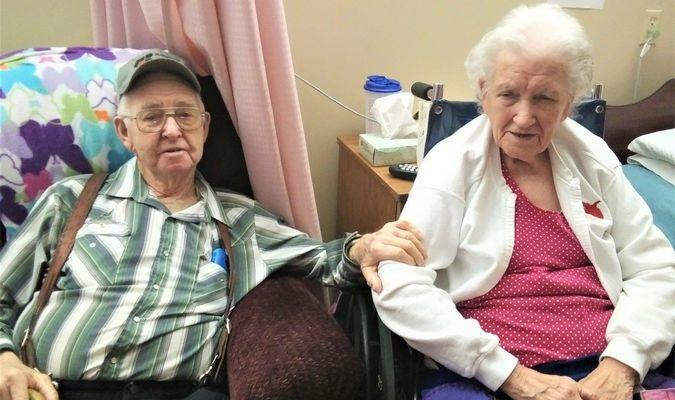 Everett and Lela Arnett. Photo by Robin Gregg