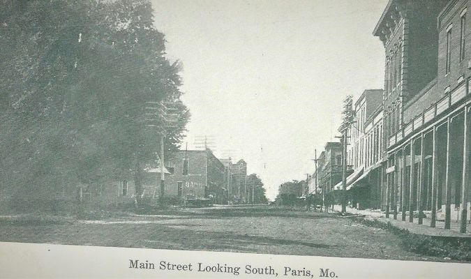 Main Street looking South Then and Now