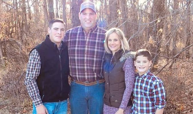 Remington, Greg, Anna, and Dominic Maubach
