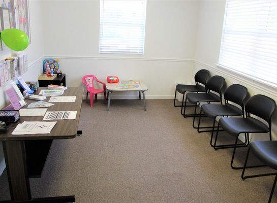 Monroe County NECAC Service Office waiting room. Photo taken by Robin Gregg during Open House held May 15, 2019.