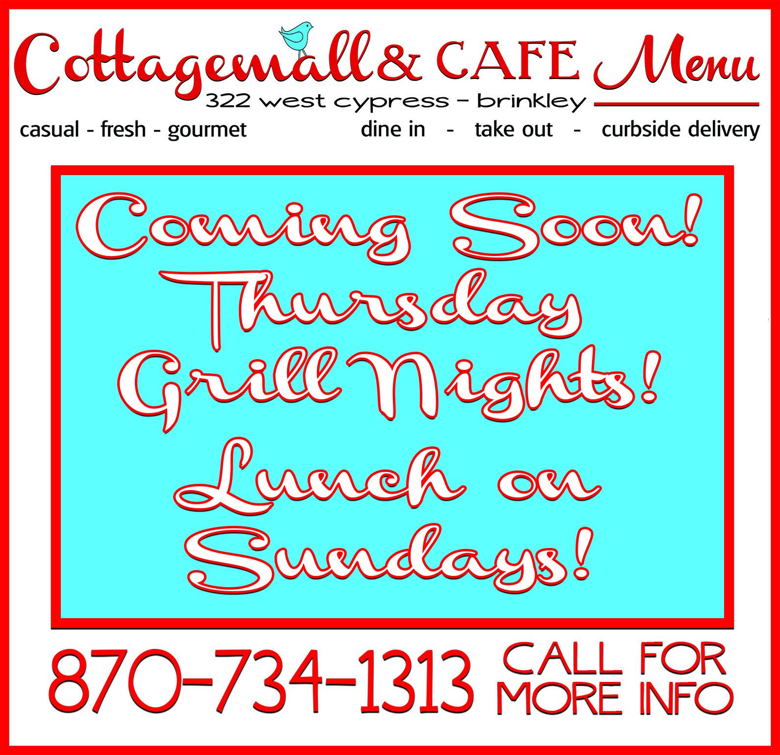 Cottagemall menu ad 11.27.2020