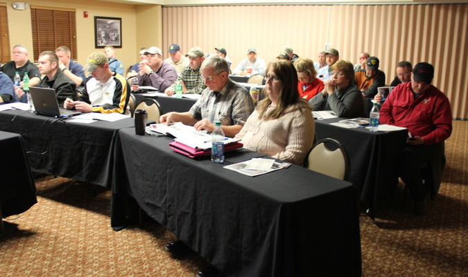Several different first responders such as firemen, Highway Patrolmen, EMTs, MoDOT workers, and tow truck drivers attended a first responder training class on Thursday, February 4.