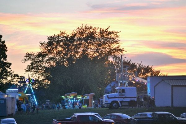 The 86th Annual Bevier Homecoming got started under a beautiful sky Wednesday evening.