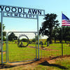 LONGTIME CEMETERY: An American flag waves in honor of Memorial Day at the Woodlawn Cemetery on County Road 1580 between Marlow and Rush Springs.