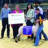 FAMILY OF CHAMPIONS: Riley Scott was the grand champion sheep showman at the Tulsa State Fair on Monday and Madalyn Scott won grand champion sheep showman at the Oklahoma State Fair last month.