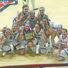 9TH GRADE GIRLS: The Marlow freshmen girls basketball team won the conference tournament at Pauls Valley last week.