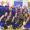 TOURNAMENT TITLE: Bray-Doyle basketball players celebrate winning the Maysville Basketball Tournament this past weekend.