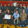 BRINGING HOME HARDWARE: The Marlow wrestling team took third place at the Southern Oklahoma Invitational Tournament in Duncan last weekend. The Outlaws had several that placed including two champions – Anthony Orum and Noah Overshine.
