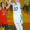 LEADING SCORER: Marlow senior post player Brooke Morriston leads the Lady Outlaws with 9.8 points per game.