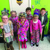 BRAY-DOYLE CELEBRATION: Some Bray-Doyle students celebrated the 100th day of school by dressing up for the occasion.