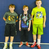 WESTMOORE PLACERS: Four Stephens County Outlaw youth wrestlers place at a tournament in Westmoore.