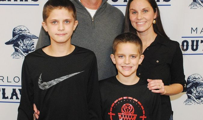 NEW COACH: Matt Weber was named the new football coach at Marlow. Weber coached Marlow from 2004-2007. He and his wife Trisha have two sons – Cody and Brendan.
