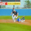 GETTING THE OUT: Marlow shortstop Houston Davis beats the baserunner to second base in the Outlaws win over Fort Cobb-Broxton on Tuesday.