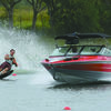 SMOOTH RUN: Alec Shuler of Marlow is competing for the Oklahoma State water ski team.