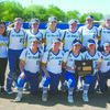 STATE BOUND: Central High softball celebrates after winning a Class 2A regional tournament on their home field last Friday. The state tournament was scheduled for Wednesday.