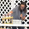 EXPERIMENT: Marlow FFA Banquet keynote speaker Morgan Davis uses a science experiment during her talk Tuesday night.