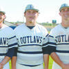 RECOGNITION: Marlow's Tanner Ladon, Austin Gilley and Wyatt Bergner were named to the Oklahoma Coaches Association Large West 3A All-Star team.