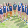 2018 Marlow High School girls cross country team