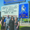 State superintendent Joy Hofmeister stopped by Central High last Thursday morning to visit students, teachers and administrators. Pictured: (from left) Central High elementary principal LeAnn Johnson, superintendent Bennie Newton, state superintendent Joy Hofmeister, and high school principal Wendy DeIorio.
