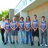 Coach Kirk Harris, Matt Derichsweiler, Payton Maddox, Barri McCauley, JP Forsythe, Josiah Johnson, and Gatlin Sanders