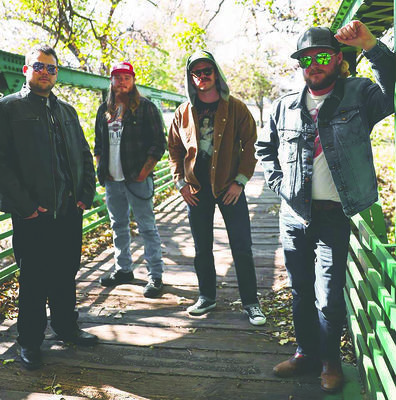 "Wildhorse Revenant are Jack Tidwell, Lindall Davis, Erik Davis, and Hunter Cook. The band's debut album, ""Star Forty-Six,"" will be released on Friday with a live show at Wall Street Bar in Duncan."