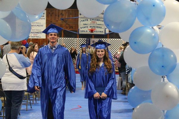 Graduation for Bray-Doyle High School Class of 2020 will look quite different from previous years (such as 2019, above), but the school administrators wanted to be sure that they are honored for their achievement.