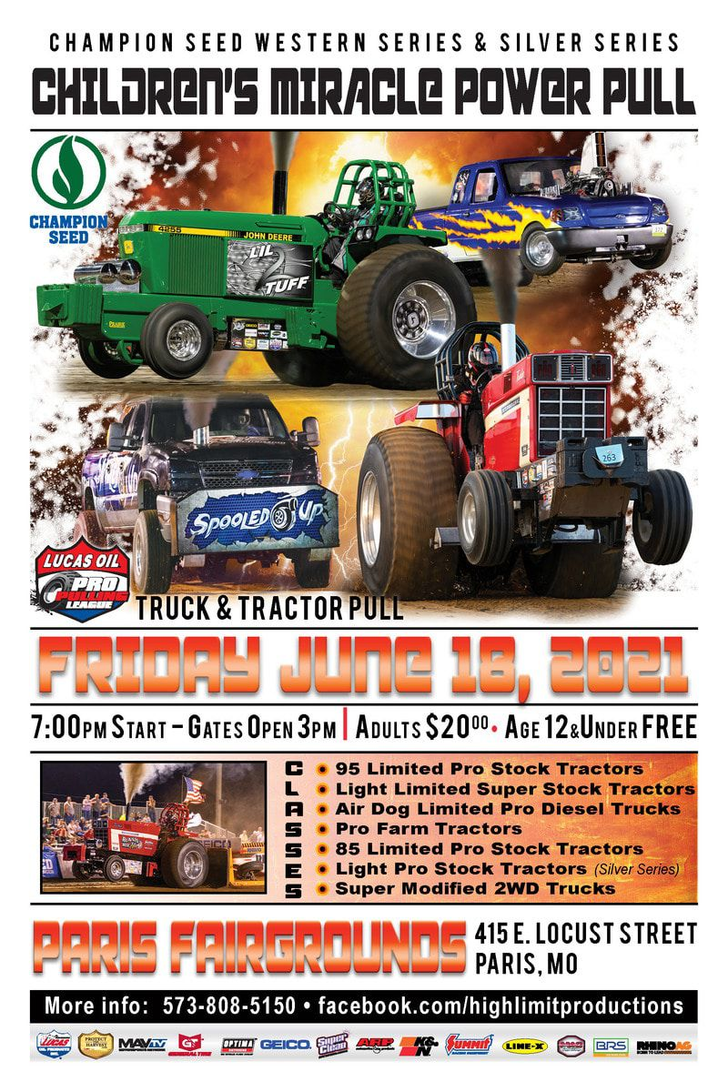 Children's Miracle Network Tractor Pull