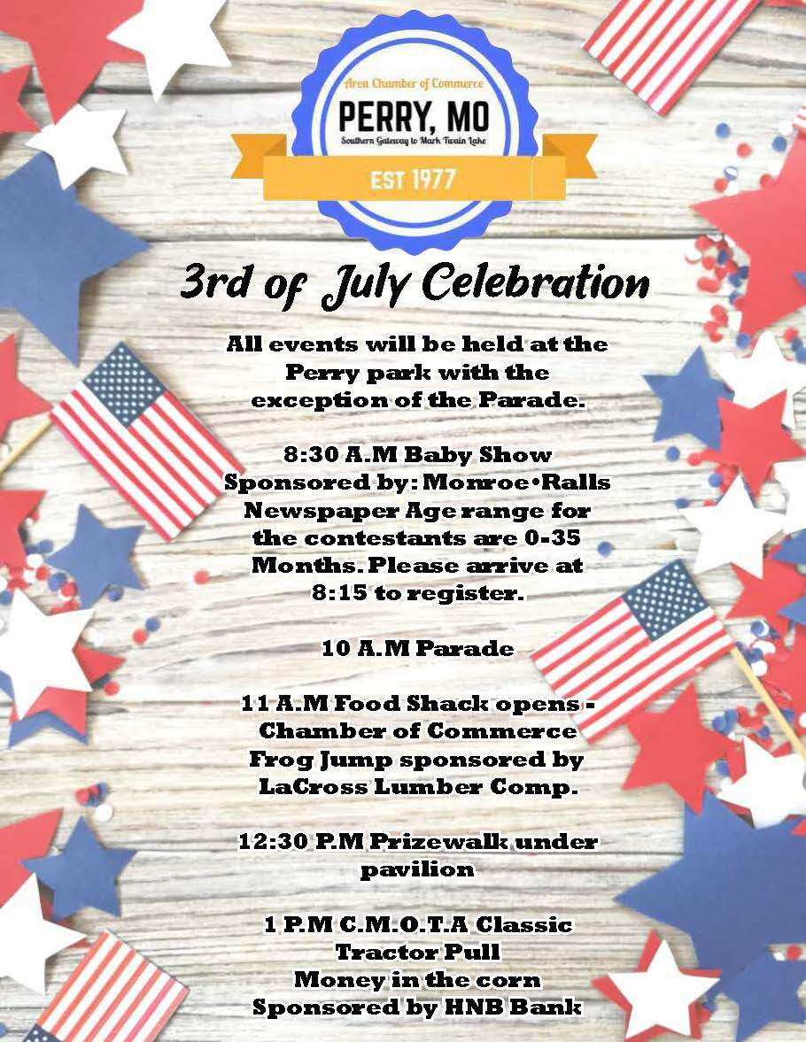 Perry 4th of July Events