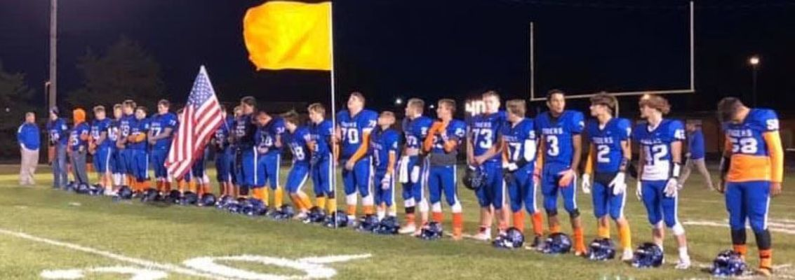 Mark Twain's Tigers wore orange for Jamie-Lynn at the varsity football game on Friday.