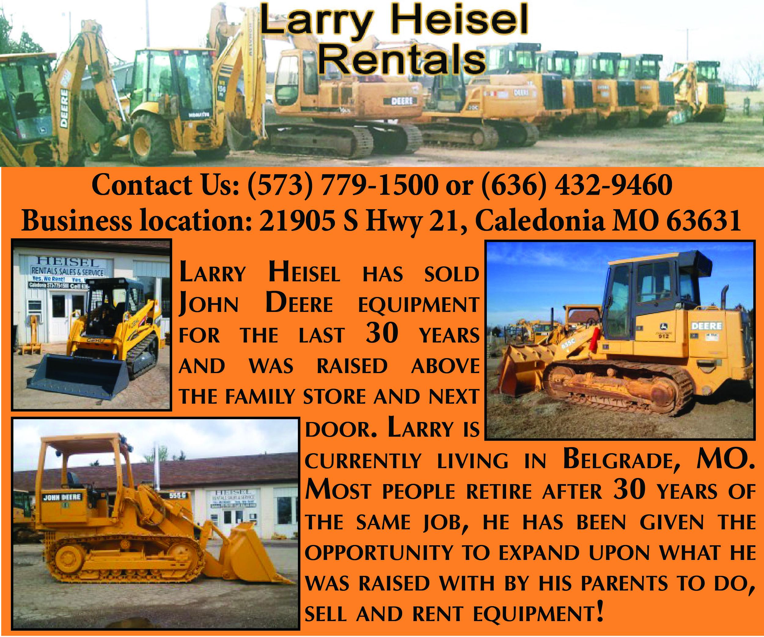 Larry Heisel Rentals