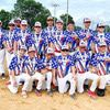 TO WORLD SERIES IN BRANSON – The 12U Mineral Area Americans are pictured above, seated from left to right: Brady Schweiss, Brady Kincaid, Ryder Kozemski, Hunter Moore, Blake Gillam, Maddox Sutton. Standing left to right is Assistant Coach Caleb Land, Ella Sims, Ashton Pogue, Head Coach Ben Moore, Karson Wells, A.J. Robbins, Gatlin Portell, Gabe Land, Alex Hogan, Triton Crocker, Chad Dickey, Assistant Coach Andy Kincaid, and Assistant Coach Jason Sims. The team took 2nd in the State Tournament and qualified to continue on to the World Series for 12U in Branson, Mo.           (Submitted Photo)