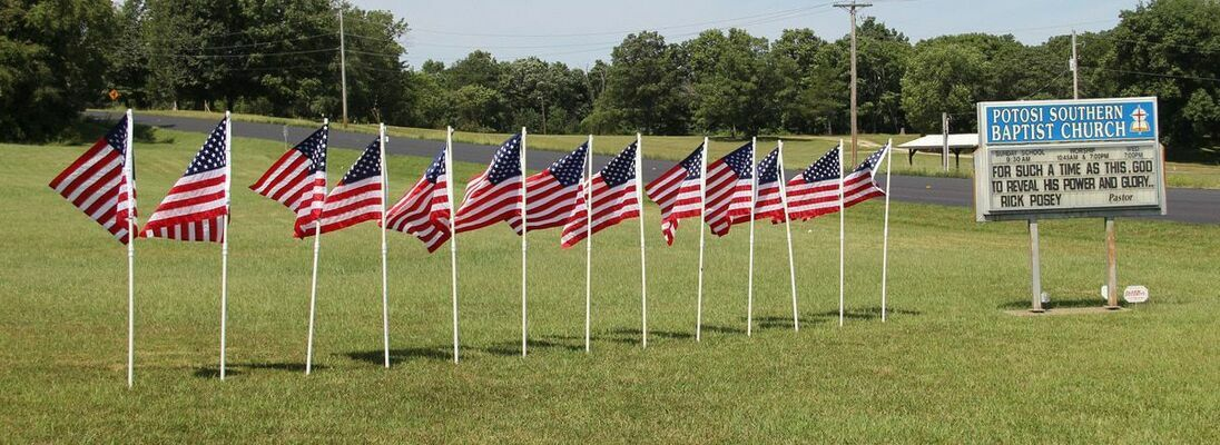 The 13 flags represent more than those thirteen fallen soldiers.