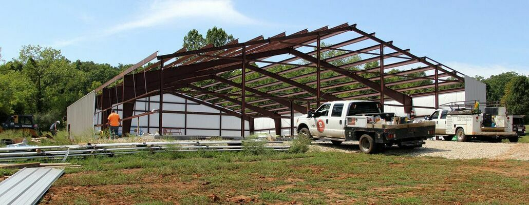 Reviving Hope Church construction underway.