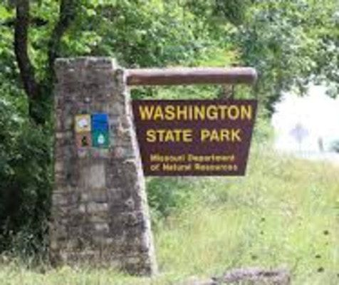 Washington State Park, located on Highway 21 at the North edge of Washington County